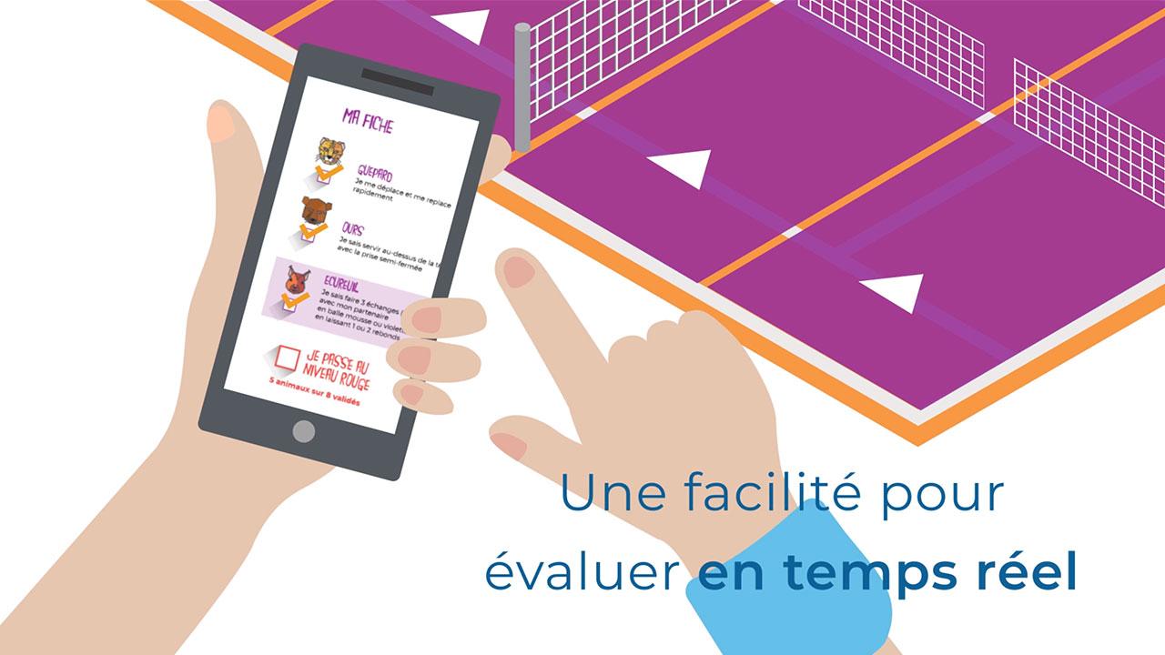 Présentation Application Tennis Motion Design