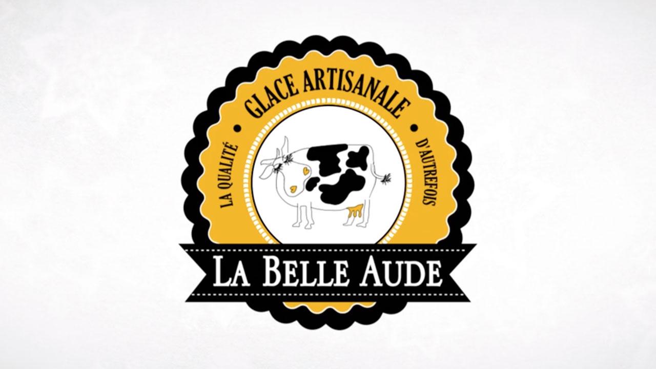 Glace La Belle Aude Produit Noël Motion design