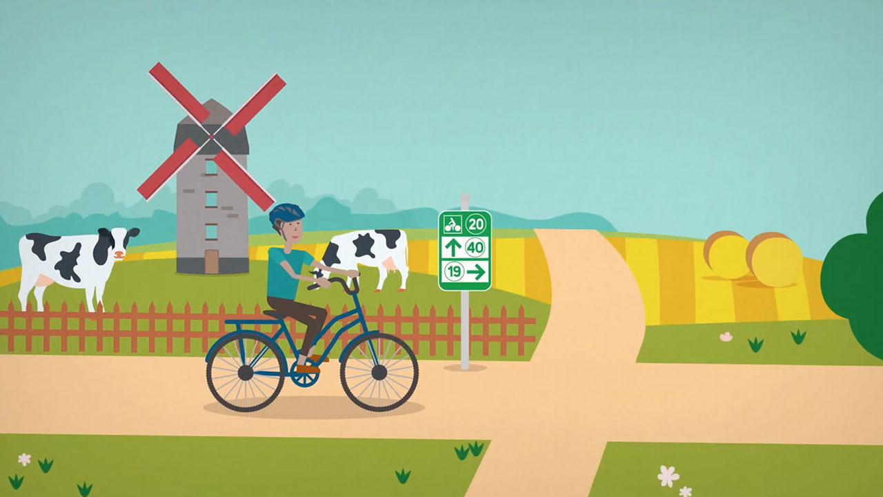 Points Noeuds Vélo Pédagogique Motion design vidéo